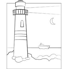 coastal lighthouse coloring pages for adults coloring pages
