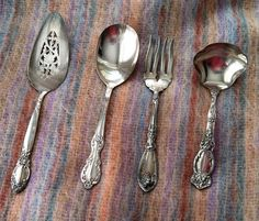 for the rustic look Pattern Names, Pattern Making, Old World, Kitchenware, Silver Plate, Rustic, Glass, Vintage, Country Primitive