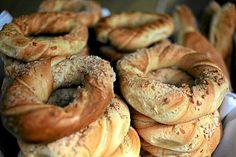 Obwarzanek Krakowski (Polish Twisted Bagels).