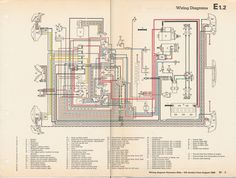 1971 vw karmann ghia wiring diagram thesamba com karmann ghia karmann ghia wiring diagrams