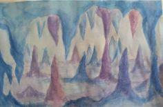 Grade Six Astronomy & Mineralogy Sixth Grade Science, 6th Grade Art, Grade 3, Wet On Wet Painting, Painting & Drawing, Middle School Art, Chalkboard Drawings, Art Plastique, Art Tutorials