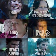 #petta mellark #gale hawthorn #Katniss Everdeen