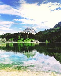 Take me to the lake 💚 #lagodimisurina #dolomiti