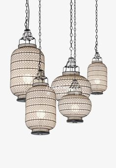 Modern Chinese style droplight【最灯饰】现代中式设计师新款灯笼吊灯