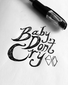 EXO(엑소) - Baby Dont Cry(인어의 눈물)  https://youtu.be/Qr7U_q1Msnw