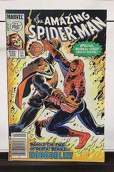 March 1983 The Amazing Spider Man #250 Marvel Comic Book Hobgoblin