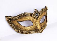 antiqued gold mask!