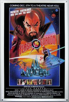 Flash Gordon (One Sheet)Music by Queen!