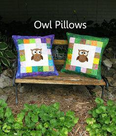 Easy Owl Pillows