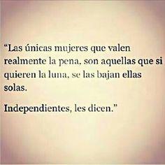 Mujeres Independientes.