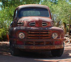 Route 66 Ford Truck.