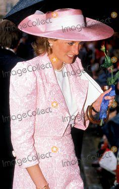 Princess Diana Photo:dave Chancellor/alpha/Globe Photos Inc 1989 Princessdianaretro 6/8/