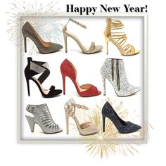 A fashion look from December 2015 by gojane featuring party heels for NYE!