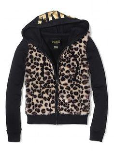 Victoria's Secret PINK Faux-fur Signature Zip Hoodie #VictoriasSecret http://www.victoriassecret.com/pink/tops/faux-fur-signature-zip-hoodie-victorias-secret-pink?ProductID=80005=OLS?cm_mmc=pinterest-_-product-_-x-_-x