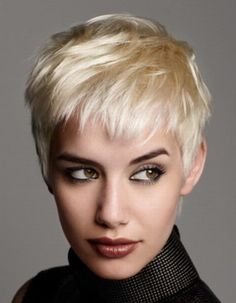 Very Short Messy Hairstyles for Women