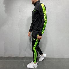 ðBotton-Up Striped Tracksuit Search for: â 4542 â . Urban Outfits, Casual Outfits, Men Casual, Best Tracksuits, Pants Adidas, Adidas Tracksuit, Men With Street Style, Sweater Hoodie, Black Sweaters