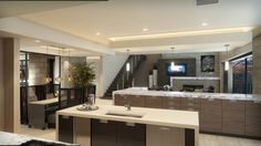 The New American Home IBS Show Home Makes a Splash on a Production Budget The 2015 New American Home takes a practical design approach but doesn't leave out the Las Vegas–inspired bling