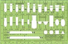 "The 1/2"" Field Template Lite - Field Template"