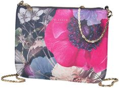 Ted Baker Womens Namia Neon Poppy Chain Cross Body Bag Navy £34.99 #CommissionLink