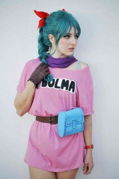 Bulma cosplay - Visit now for 3D Dragon Ball Z shirts now on sale! - Visit now for 3D Dragon Ball Z compression shirts now on sale! #dragonball #dbz #dragonballsuper
