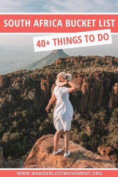 Need some inspiration for your South Africa bucket list? Here are of the best things to do in South Africa to add to your itinerary! Africa Destinations, Travel Destinations, Holiday Destinations, Travel Tips, Travel Guides, Travel Advise, Usa Travel, Italy Travel, Visit South Africa