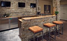 basement bar!