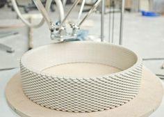 3d печать изделия из глины