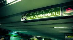 Metro, Linea 3, Dirección Universidad. D.F