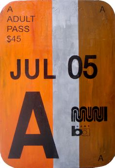 Muni rider Steven recently told us about Blair Bradshaw's rad Fast Pass art. I totally wanna see these in person. We got in touch with Blair, who had this to say about his artwork: I'm … San Francisco Transit, Inspiration Boards, Maps, Oil, Artist, Blue Prints, Artists, Map, Cards