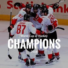 Canada defeats Europe to win 🇨🇦🏒 📸: Peter Power/Getty Hockey World Cup, Champion, Canada, Baseball Cards, Instagram Posts, Sports, Europe, Hs Sports, Sport