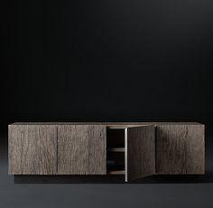 Monterey Panel 4-Door Media Console