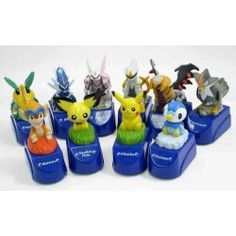 Pokemon 2009 7-11 Convenience Store Movie All 10 Pikachu Piplup Monferno Grotle…