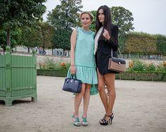 Paris Fashion Week SS2014 - Tuileries Gardens   THE STYLESEER