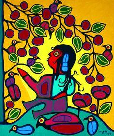 Norval Morrisseau original paintings Inuit Kunst, Inuit Art, Kunst Der Aborigines, Contemporary Decorative Art, Indigenous Art, Naive Art, Canadian Artists, Aboriginal Art, Native American Art