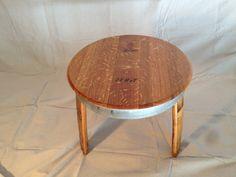 wine barrel top table arched napa valley wine barrel table