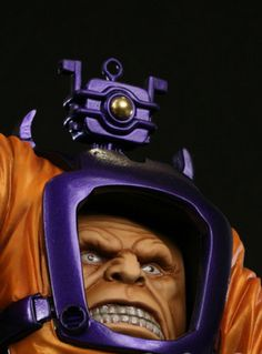 Arnim Zola Bust. Designed & Sculpted by the Kucharek Brothers.