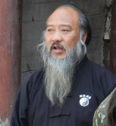 Taoist monk at wudangshan