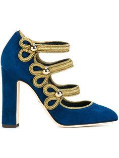 Shop Dolce & Gabbana 'Vally' Mary Jane pumps. 745 euro shoes scarpe c'factor choice personal shopper follow me