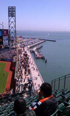Giants baseball... Best park in the majors.