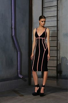 Hervé Léger by Max Azria | Pre-Fall 2013 Collection | Style.com