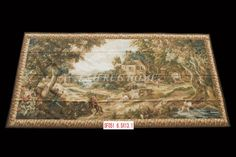 Free Shipping 6.5'x13.1'Handmade wool aubusson tapestry gobelin carpet, wall hanging tapestry wool tapestry paintings