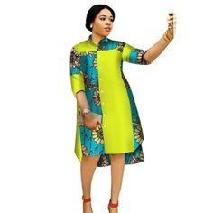 Women Maxi Dress African Print Dresses for Women Three-Quter Sleeve Dress Women – African Fashion Dresses - African Styles for Ladies African Fashion Designers, African Fashion Ankara, African Inspired Fashion, Latest African Fashion Dresses, African Print Fashion, African Women Fashion, Short African Dresses, African Print Dresses, African Print Dress Designs