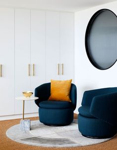 A Quirky Harbourside Penthouse For Stylish Retirees! Australian Architecture, Australian Homes, Anthropologie Wallpaper, Cedar And Moss, New York Penthouse, Victorian Cottage, Design Files, Inspired Homes, Design Awards