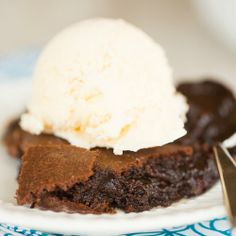 Brownie Pudding Recipe | Brown Eyed Baker