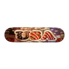 Roll down the sidewalk with the wind in your hair thanks to Zazzle's Blue skateboards. Choose your size, your deck, & get rolling with our skateboard! Skateboards, Outdoor Gear, Gears, Usa, Blue, Gear Train, Skateboarding, Outdoor Tools, Surfboards