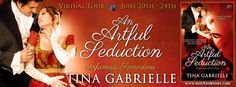 The Book Junkie's Reads . . .: Virtual Tour - AN ARTFUL SEDUCTION (Infamous Somertons, #1) by Tina Gabrielle
