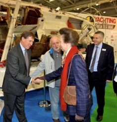 Robert Holbrook from Admiral Yacht Insurance meets HRH The Princess Royal - http://www.admiralyacht.com/admiral-news/admiral-latest-news-item.php?newsID=114 #BoatCrashTest #PrincessRoyal