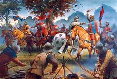 John of Gaunt's raid through central France - the Great Chevauchee.  Click on…