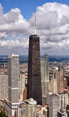 John Hancock Center - Chicago - 1965 - Structural Expressionist.