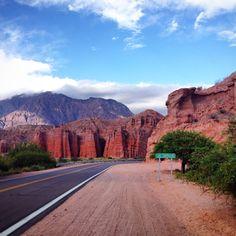 Quebrada de las Conchas, ruta nacional 68, de Cafayate a Salta